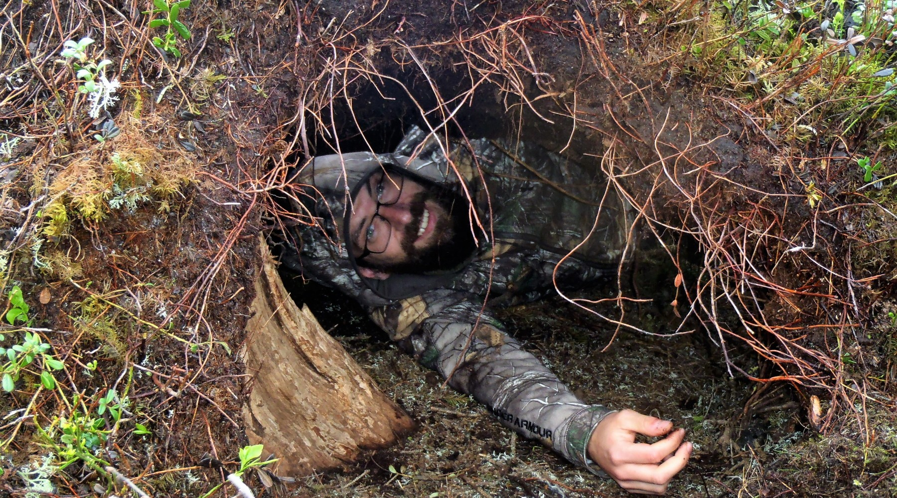 Fährtenlesen: in der Höhle eines Braunbären (Bild)