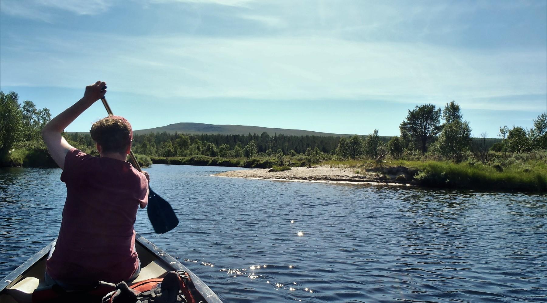 Kanuwandern: Paddeltour in Norwegen (Bild)